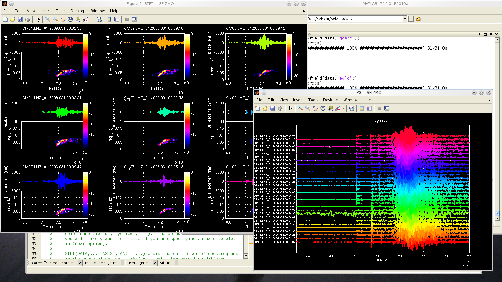 Project SEIZMO - A Matlab & Octave Toolbox for Earthquake